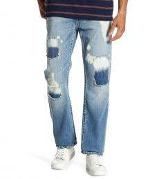 True Religion Light Blue Distressed Skinny Jeans