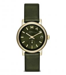 Marc Jacobs Olive Baker Watch