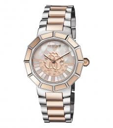 Silver Gleaming Watch