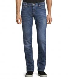 Blue Slim-Fit Jeans