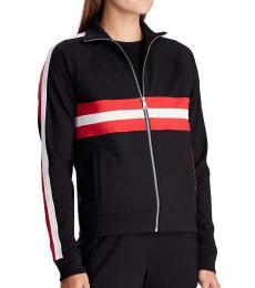 Ralph Lauren Black Zip-Up Track Jacket