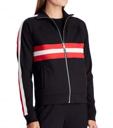 Ralph Lauren Black Zip-Up Track Jacket