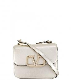 Valentino Garavani Pale Gold Vring Small Crossbody