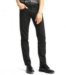 DKNY Black Slim Twill Jeanss