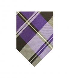 Ralph Lauren Multi Color Dapper Plaid Twill Tie