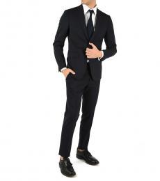 Blue Wool Manchester Suit