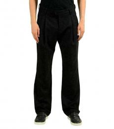 Black Black Pleated Casual Pants