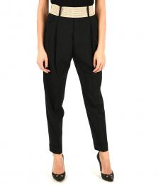 Dsquared2 Black Belted Wool Pants