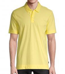 Hugo Boss Yellow Paino Polo