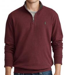 Ralph Lauren Aged Cherry Luxury Jersey Pullover