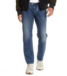 Diesel Denim Larkee Regular Fit Tapered Leg Jeans