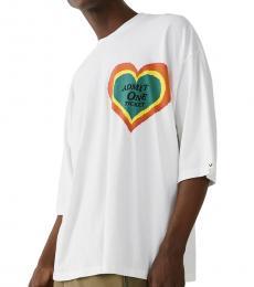 True Religion White Graphic T-Shirt