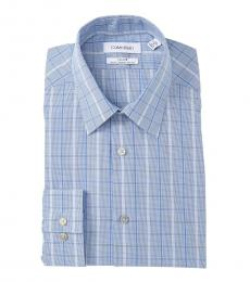 Petrol Slim Fit Stretch Dress Shirt
