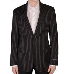 Tricolor Wool Two Button Blazer
