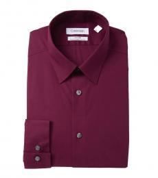 Hearth Slim Fit Solid Dress Shirt