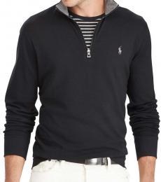 Ralph Lauren Black Luxury Jersey Pullover