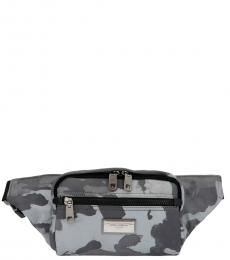 Dolce & Gabbana Silver Camouflage Large Crossbody Bag