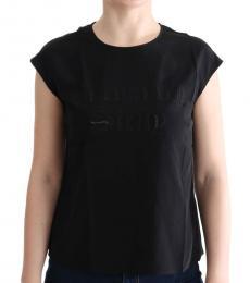 Dolce & Gabbana Black Solid Enchanted T-Shirt