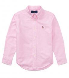 Ralph Lauren Little Boys New Rose Oxford Shirt