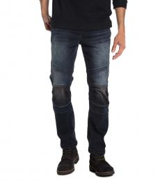 Dark Blue Rocco Relaxed Skinny Jeans