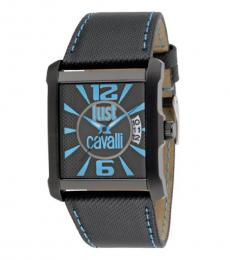 Black Rectangle Dial Watch