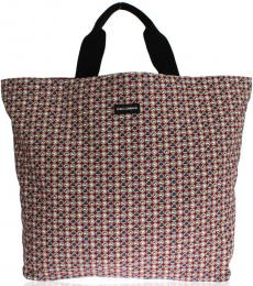 Dolce & Gabbana Red Hat Print Large Tote