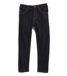DKNY Little Boys Washed Black Greenwich Slim Jeans