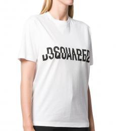 Dsquared2 White Classic Logo Tee