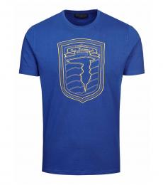 Blue Graphic Logo T-Shirt