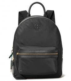 Tory Burch Black Perry Zip Large Backpack