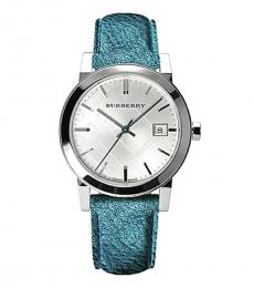 Burberry Teal The City Watch