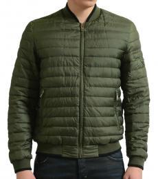 Olive Green Full Zip Jacket