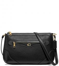 Coach Black Ivie Large Crossbody
