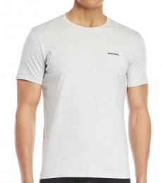 Light Grey Solid Logo T-Shirt