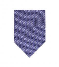 Michael Kors Purple-Multi Interlinked Geometric Tie