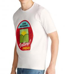 White Produce Graphic T-Shirt