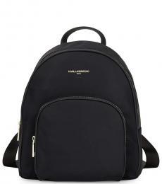 Black Front Pocket Large Backpack