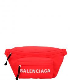 Balenciaga Red Wheel Fanny Pack