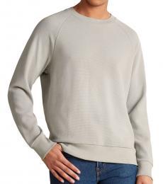 Theory Grey Otto Raglan Sweatshirt