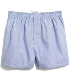 J.Crew Light Blue End On End Boxers