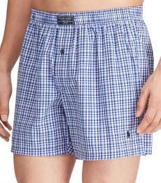 Ralph Lauren Jefferson Plaid Cotton Shorts
