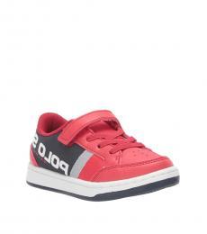Ralph Lauren Baby Boys Red Belden Sneakers