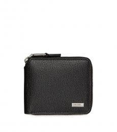 Calvin Klein Black Compact Zip Wallet