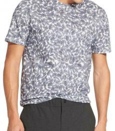DKNY Navy Blue Printed Allover T-Shirt