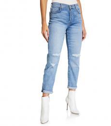 7 For All Mankind Blue Josefina Destroy Jeans