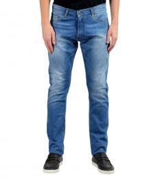 Roberto Cavalli Blue Stretch Slim Jeans