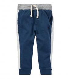 Ralph Lauren Baby Boys Clancy Blue Spa Terry Joggers