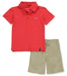 2 Piece Polo/Shorts Set (Little Boys)