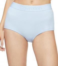 Calvin Klein Baby Blue High-Waist Hipster Underwear