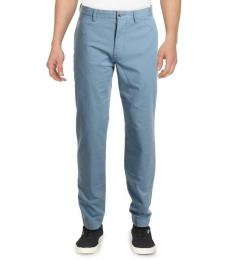 Ralph Lauren Blue Straight Fit Mid-Rise Chinos
